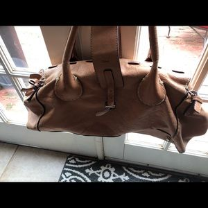 Chloe Bags - Leather Chloe tan sachel handbag